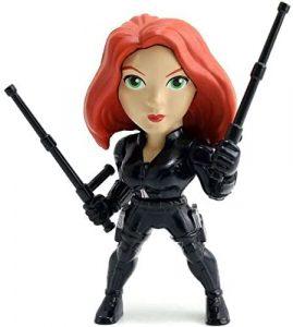 Figura de Black Widow de Jada - Figuras de acción y muñecos de Black Widow de Marvel