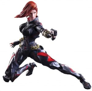 Figura de Black Widow de Square Enix - Figuras de acción y muñecos de Black Widow de Marvel