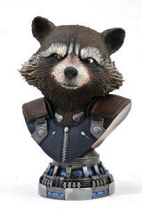 Figura de Busto de Rocket Racoon - Figuras de acción y muñecos de Rocket Racoon de Marvel