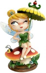 Figura de Campanilla de Peter Pan de Enesco de Disney - Muñecos de Disney