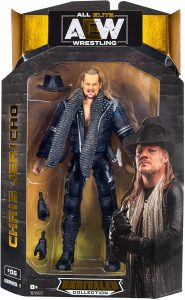 Figura de Chris Jericho de AEW - Figuras coleccionables de Chris Jericho de WWE