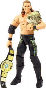 Figura de Chris Jericho de doble campeón - Figuras coleccionables de Chris Jericho de WWE
