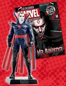 Figura de Eaglemoss de Mister Siniestro de los X-Men - Figuras de Siniestro