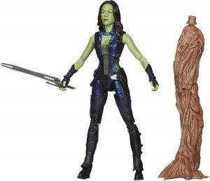 Figura de Gamora de Guardianes de la Galaxia de Hasbro - Figuras de acción y muñecos de Gamora de Marvel