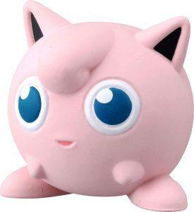 Figura de Jigglypuff de Takara Tomy - Figuras coleccionables de Jigglypuff de Pokemon