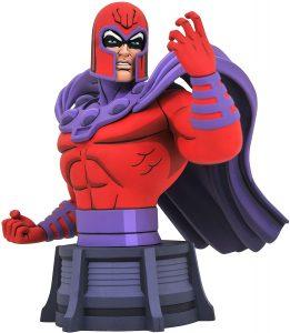 Figura de Magneto de busto de Diamond - Figuras de acción y muñecos de Magneto de Marvel