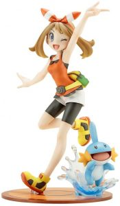 Figura de May with Mudkip de Kotobukiya - Figuras coleccionables de Mudkip de Pokemon