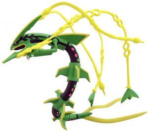 Figura de Mega Rayquaza de Takara Tomy - Figuras coleccionables de Rayquaza de Pokemon