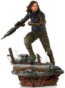 Figura de Soldado de Invierno Bucky de Iron Studios - Figuras de acción y muñecos del Soldado de Invierno de Marvel