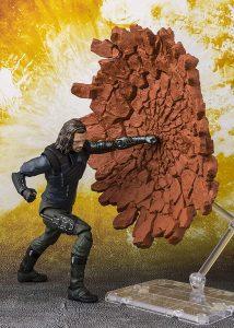 Figura de Soldado de Invierno Bucky de Tamashii Nations - Figuras de acción y muñecos del Soldado de Invierno de Marvel