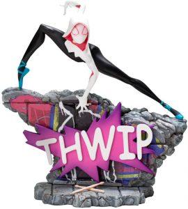 Figura de Spider Gwen de Iron Studios - Figuras de acción y muñecos de Spider Gwen de Marvel