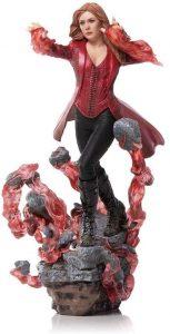Figura de la Bruja Escarlata de Iron Studios - Figuras de acción y muñecos de Scarlet Witch de Marvel