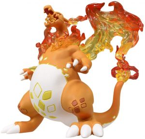 Figura y muñeco de Charizard Gigantamax de Takara Tomy - Figuras coleccionables de Charizard de Pokemon - Muñeco de Pokemon