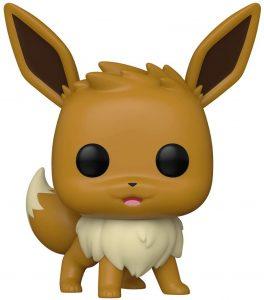Figura y muñeco de Eevee de FUNKO POP - Figuras coleccionables de Eevee de Pokemon - Muñeco de Pokemon