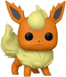 Figura y muñeco de Flareon de FUNKO POP - Figuras coleccionables de Flareon de Pokemon - Muñeco de Pokemon