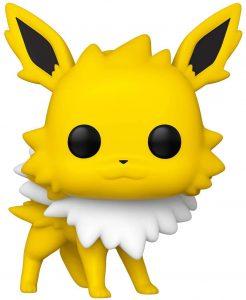 Figura y muñeco de Jolteon de FUNKO POP - Figuras coleccionables de Jolteon de Pokemon - Muñeco de Pokemon