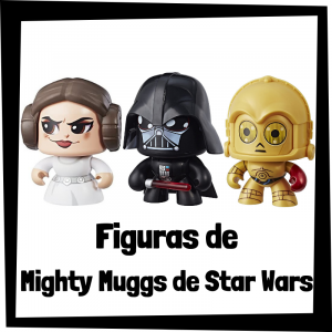 Figuras coleccionables de Mighty Muggs de Star Wars