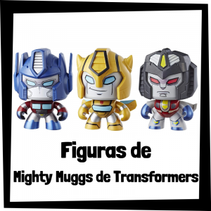 Figuras coleccionables de Mighty Muggs de Transformers