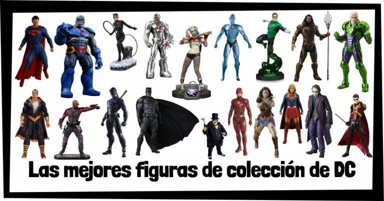 Guía de figuras de DC - Juguetes y figuras de colección de personajes de DC - Muñecos de héroes y villanos de la Liga de la Justicia de DC