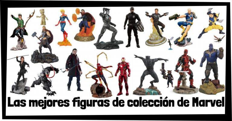 Guía de figuras de Marvel - Juguetes y figuras de colección de personajes de Marvel - Muñecos de héroes y villanos de los Vengadores de Marvel