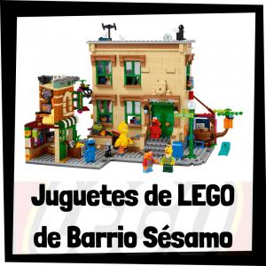 Juguetes de LEGO de Barrio Sésamo - Sets de lego de construcción de 123 Sesame Street