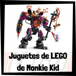 Juguetes de LEGO de Monkie Kid - Sets de lego de construcción de Monkie Kid