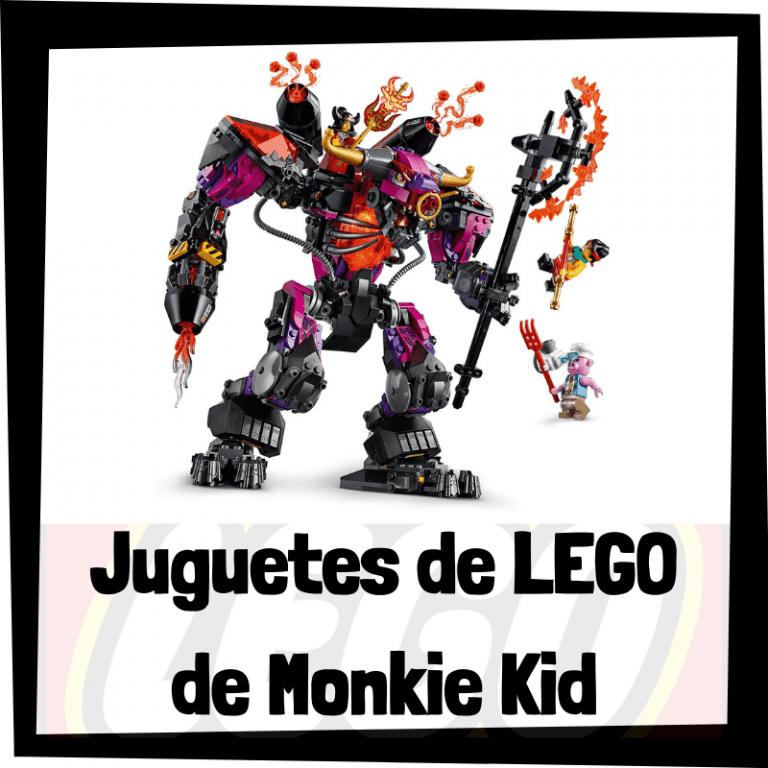 Lee más sobre el artículo Juguetes de LEGO de Monkie Kid