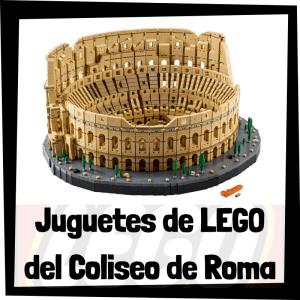 Juguetes de LEGO del Coliseo de Roma