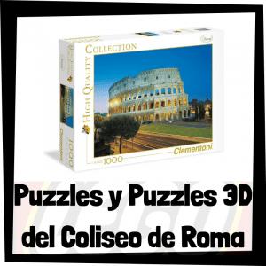 Los mejores puzzles y puzzles en 3D del Coliseo de Roma