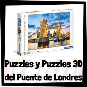 Los mejores puzzles y puzzles en 3D del Puente de Londres - Tower Bridge
