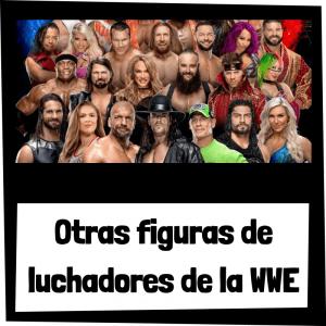 Otras figuras de luchadores de la WWE - Figuras y muñecos de la WWE - WWF