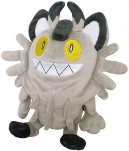 Peluche de Meowth Galar - Figuras coleccionables de Meowth de Pokemon - Muñeco de Pokemon