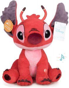 Peluche de Stitch rojo de Lilo y Stitch - Muñecos de Disney