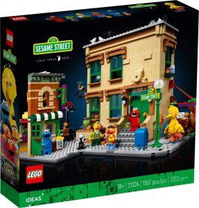 Sets de LEGO Ideas de Barrio Sésamo 21324 de 1367 piezas - Juguete de construcción de LEGO de Barrio Sésamo