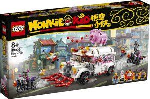Sets de LEGO de Camión Pigsy de Monkie Kid 80009 - Juguete de construcción de LEGO de Monkie Kid