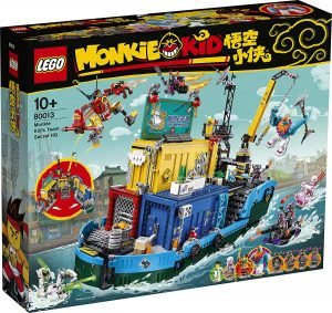 Sets de LEGO de Monkie Secreto de Monkie Kid 80013 - Juguete de construcción de LEGO de Monkie Kid