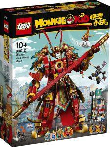 Sets de LEGO de Rey Guerrero mono de Monkie Kid 80012 - Juguete de construcción de LEGO de Monkie Kid