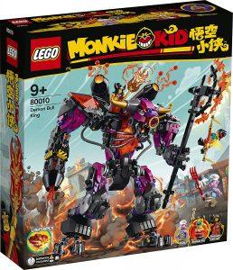 Sets de LEGO de Rey Toro Demonio de Monkie Kid 80010 - Juguete de construcción de LEGO de Monkie Kid