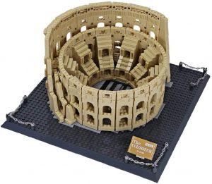 Sets de LEGO del Coliseo - Juguete de construcción de Wange del Coliseo de Roma