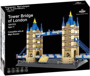 Sets de LEGO del Puente de Londres - Juguete de construcción del Puente de Londres de Apostrophe Games