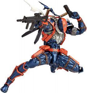 Figura de Deathstroke de Kaiyodo - Figuras de acción y muñecos de Deathstroke de DC