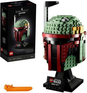 Caja del Casco de Boba Fett de Star Wars de LEGO - Los mejores cascos de Star Wars - Casco de personajes de Star Wars