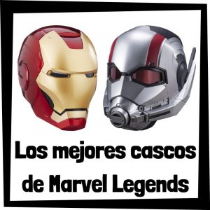 Los mejores cascos de Marvel Legends Series