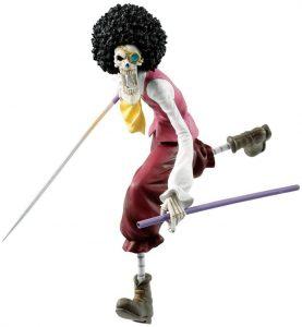 Figura de Brook de Bandai Ichibansho - Muñecos de Brook - Figuras coleccionables del anime de One Piece
