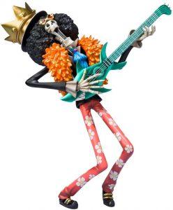Figura de Brook de Bandai Tamashii Nations - Muñecos de Brook - Figuras coleccionables del anime de One Piece