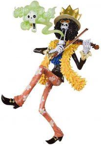 Figura de Brook de GUANGHHAO - Muñecos de Brook - Figuras coleccionables del anime de One Piece