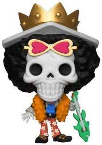 Figura de Brook de One Piece de FUNKO POP - Muñecos de Brook - Figuras coleccionables del anime de One Piece