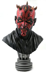 Figura de Darth Maul de Diamond Máscara - Figuras de acción y muñecos de Darth Maul de Star Wars