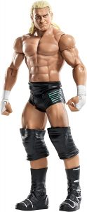 Figura de Dolph Ziggler clásico de Mattel - Muñecos de Dolph Ziggler - Figuras coleccionables de luchadores de WWE
