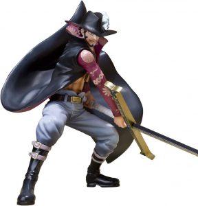 Figura de Dracule Mihawk de One Piece de Bandai Tamashii Nations - Muñecos de Dracule Mihawk - Figuras coleccionables del anime de One Piece